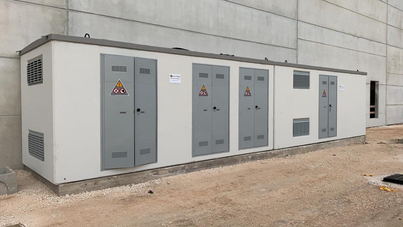 Cabine elettriche prefabbricate per Takler Srl